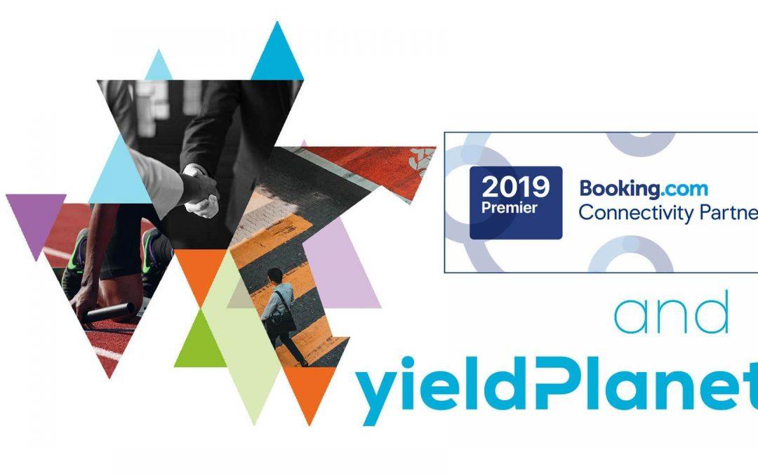 YieldPlanet listé l'un des partenaires globaux les plus fiables de Booking.com