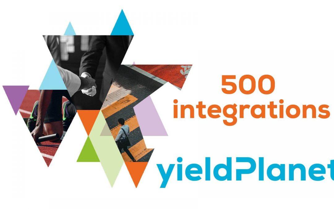 YieldPlanet ma już 500 połączonych partnerów!