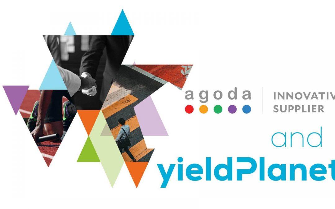 YieldPlanetbecamean Innovative Supplier Partnerof Agoda.com