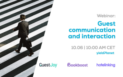 Webinar: Guest communication and interaction