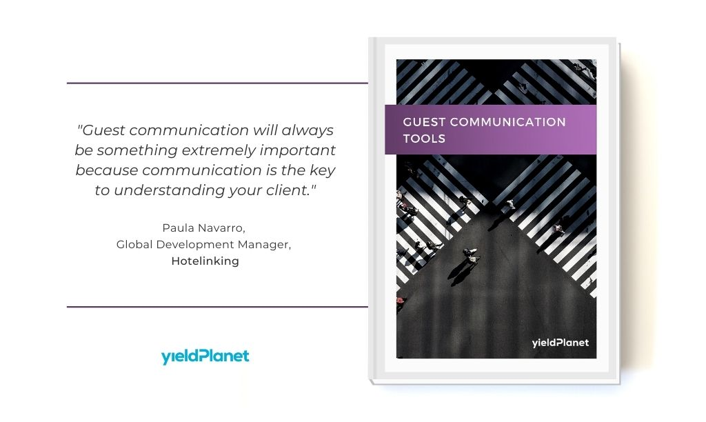 Free e-book about guest communication tools