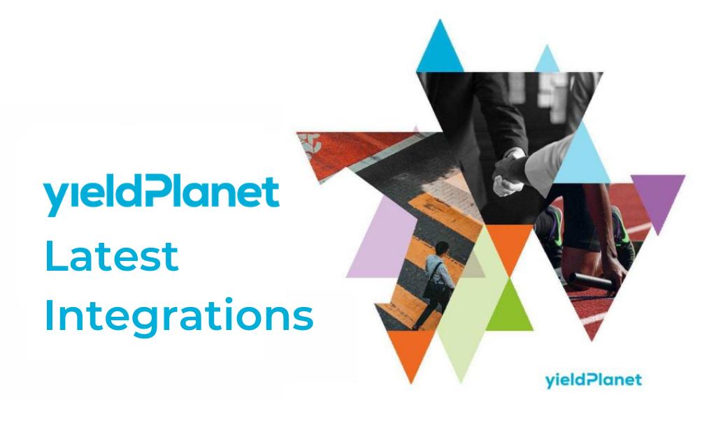 YieldPlanet November Integrations